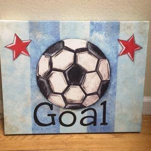"""Other - """"Goal"""" soccer ball canvass"""